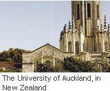 University of Auckland in New Zealand